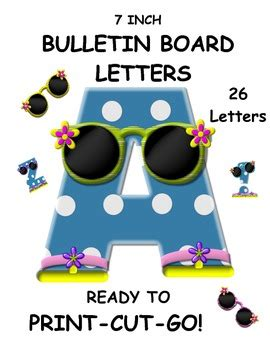 pattern for cutting letters for bulletin boards the bulletin board and word wall letters blue polka dots a z