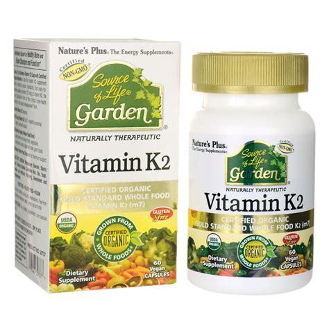 Garden Of Vitamins Nature S Plus Source Of Garden Vitamin K2 60 Vegan