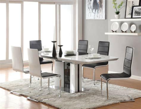 Modern Glass Dining Room Sets 120 Bilder Moderne St 252 Hle F 252 R Esszimmer Archzine Net