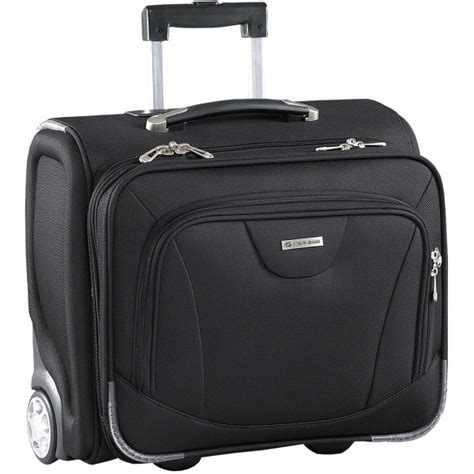 cabin size trolley caribee vip cabin size luggage 15 quot laptop trolley