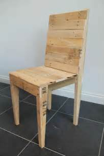 How To Make An Upholstered Bench Reclaimed Pallet Dining Chair Pallet Furniture Diy