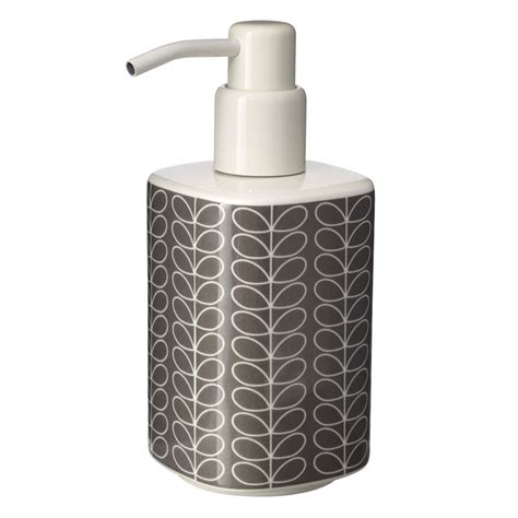 Orla Kiely Bathroom Accessories Orla Kiely Linear Stem Soap Dispenser