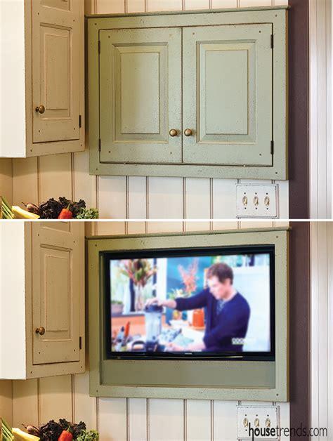 Kitchen Cabinet Electronics Kitchen Cabinet Hides Electronics
