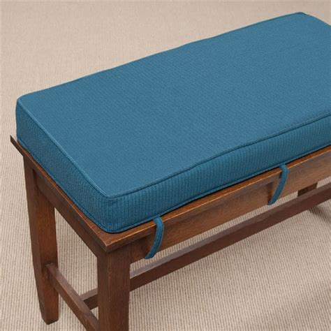 how to cover a bench cushion ultra thick piano bench cushion at the music stand
