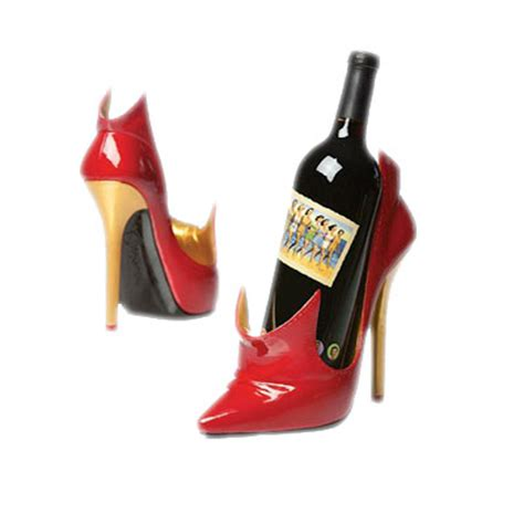 high heel wine holders high heel shoe wine bottle holder