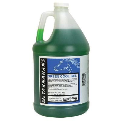 cool green products green cool gel gallon horse liniment big dee s tack