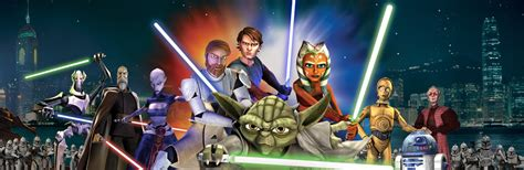 wars tv show wars the clone wars tv show chronological order