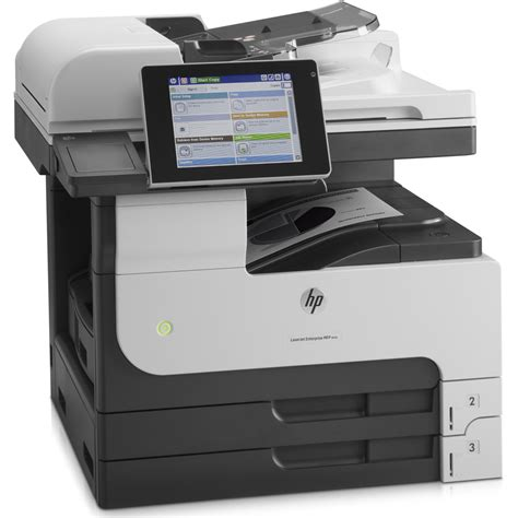 Printer Hp A3 Color hp laserjet enterprise m725dn a3 mono multifunction laser printer