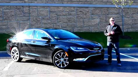 2015 Chrysler 200c Awd Review by Ihs Auto Review 2015 Chrysler 200c Awd With Uconnect Via