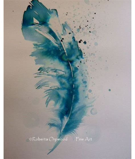 feather watercolor tattoo watercolour feather designs tattoos feather