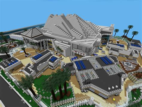 minecraft pe map minecraft pe worlds new map plaza from mw3