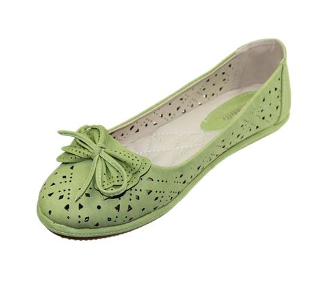 walking flats comfort ladies slip on pumps ballerinas flats comfort ballet bow