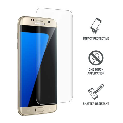Tempered Glass 4d Cover For Samsung S7 Edge Black curved tempered glass screen protector for samsung galaxy s7 edge proporta