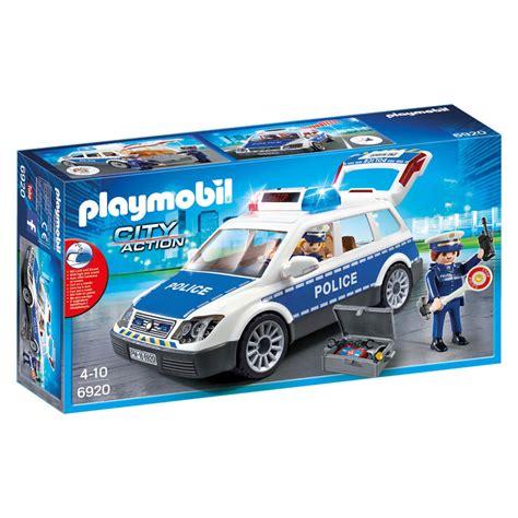 play mobile playmobil city politiepatrouille met licht en