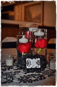 38 best red black and white centerpieces images on pinterest centerpiece ideas white