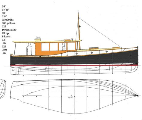 wooden powerboat plans classic motor boat plans details plan make easy to build