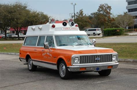 classic chevy suburban search ambulance