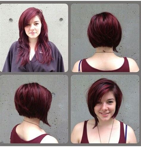 before and after bob haircut photos before and after bob haircut short bob pinterest