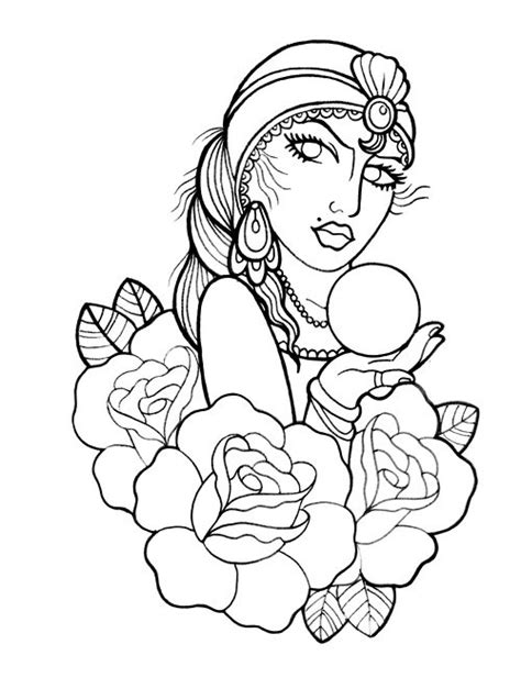 traditional gypsy tattoo tattoo pinterest