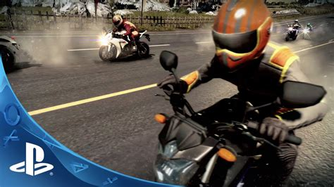 Motorcycle Club Trailer   PS4, PS3   YouTube