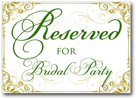 reserved seating signs template free reserved table sign template car interior design