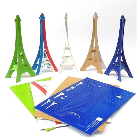 eiffel tower model template cardboard eiffel tower models