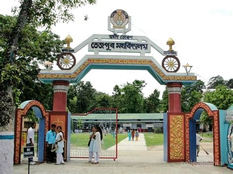 Tezpur Mba Placement by Tezpur College Tezpur Faculty Details 2018 2019