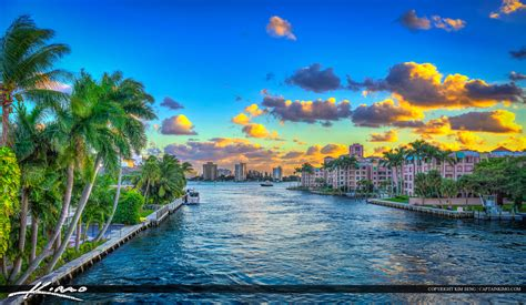 Boca Raton Property Records Boca Raton Waterway Real Estate Waterfront Property Royal Stock Photo
