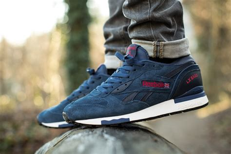 Jual Reebok Lx 8500 reebok lx 8500 faux indigo red sneakers addict