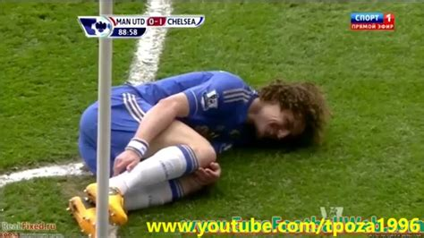 David Luiz Meme - david luiz funny moment laughs after diving youtube