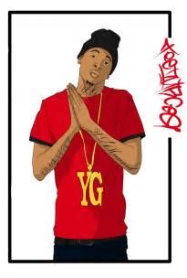 Yg 4hunnid fan art by tdubbcaotearoa