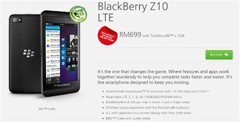 Handphone Blackberry Z10 Di Malaysia blackberry z10 lte malaysia price technave