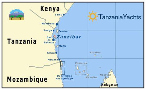 printable map of zanzibar destinations tanzania islands zanzibar pemba indian