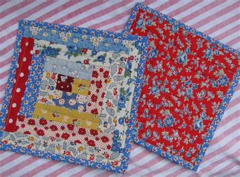 Patchwork Potholder Pattern - you are creative pretty patchwork potholders