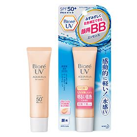 Biore Uv Aqua Rich Bb Essence Spf 50 Pa shipped from japan biore uv aqua rich bb essence sunscreen spf50 pa 33g 日本直邮 碧柔 防水透气水感