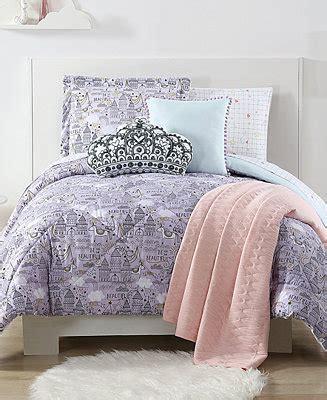macy s kids bedding laura hart kids unicorn princess printed bedding