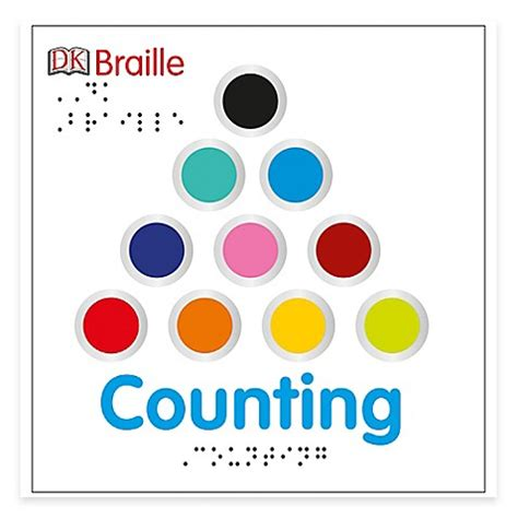 Counting Board Book quot dk braille counting quot board book bed bath beyond