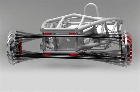 flexible wishbone  revolutionise vehicle suspension autocar