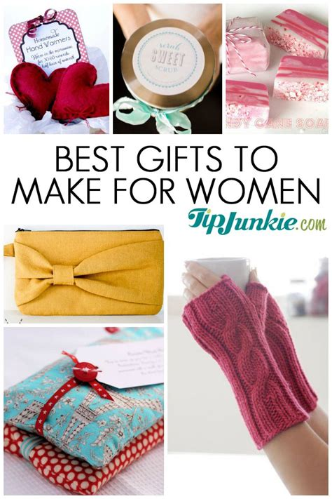 18 best gifts to make for women present ideas tip junkie