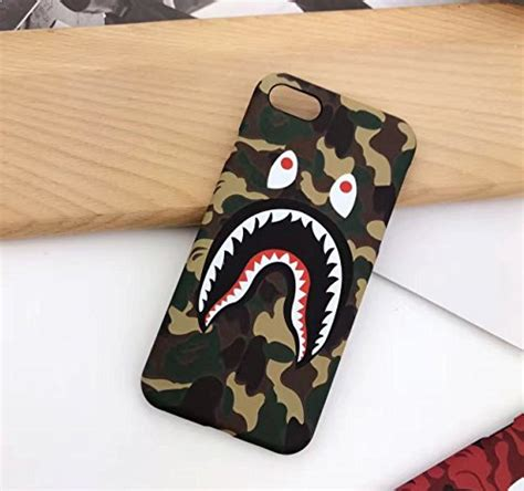 Iphone 6 6s Bape Bathing Ape Stickerbomb Shark Hardcase Cover bape iphone 6 6s 4 7 quot a bathing ape bape slim