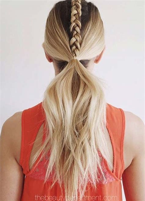 Sporty Hairstyles by Top 40 Best Sporty Hairstyles For Workout Fashionisers