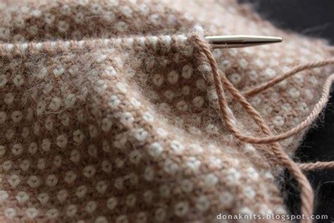 linen stitch knitting two color linen stitch knit beautiful