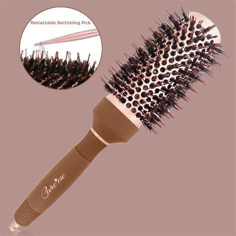 Drying Curly Hair With Brush blowdry brush medium