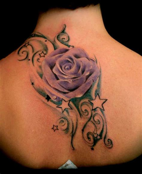 rose and star tattoo designs 121 traditional modern tattoos and designs