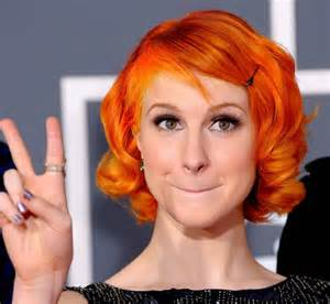 hayley williams hair color 100 things that are orange ranked autostraddle