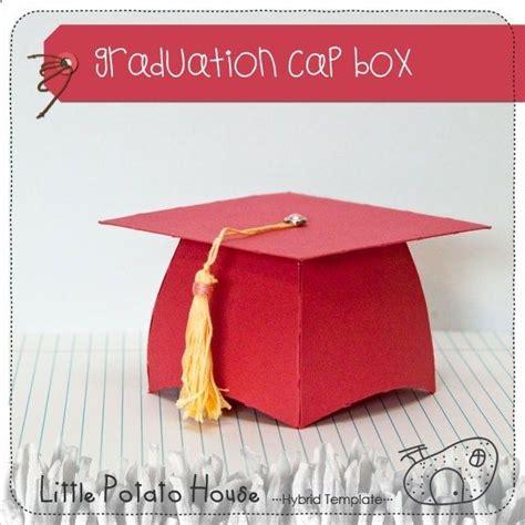 Graduation Gift Card Holder Template by Graduation Cap Box Template Uni Grad