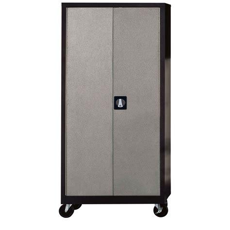 4 shelf storage cabinet silvervein 4 shelf garage storage cabinet by edsal cos