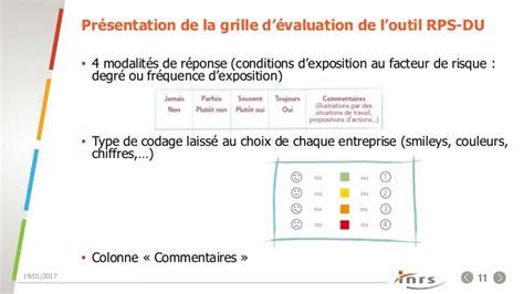 Grille D évaluation Des Risques Psychosociaux by Evaluation Et Pr 233 Vention Des Risques Psychosociaux