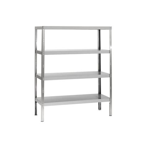 Storage Racks by Parry Rack4s12600p Four Tier Stainless Steel Storage Rack