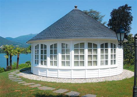 pavillon reetdach runde pavillons schieferdach k 246 tter pavillon die